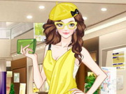 ملابس باللون الليموني