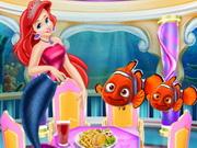 اريل تنقذ السمكة نيمو
