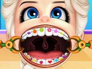 الطفل السا يرتدي تقويم الاسنان