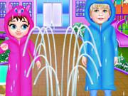 بيبي تايلور قصة الرعاية يوم ممطر