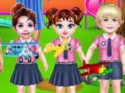 بيبي تايلور الحياة اليومية في روضة الأطفال