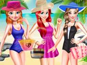 أميرات ديزني مايوهات الشاطئ