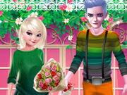 المجمدة وجاك في مكتبة الحب