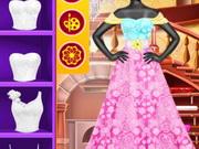 استوديو الموضة فستان الزفاف
