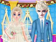 مخططة زفاف المجمدة