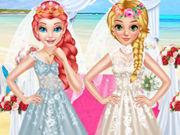 المجمدة نمط الزفاف والأسلوب الملكي