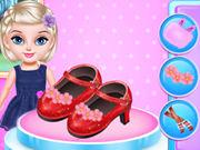 السا الصغيرة تصميم الأزياء والأحذية