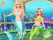 حوريات البحر الجميلات