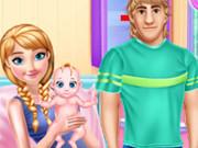 آنا الحامل والعناية بالطفل