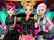 مسابقة الاميرة punk style
