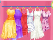 ربانزل تغيير خزانة الثياب لفصل الصيف