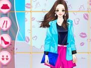 بنات هاي انمي: amy high saturation anime dress up