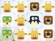 ذكاء اشكال الحيوانات المتشابهة: animals crush match 3
