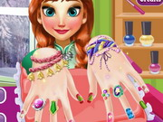 الأميرة آنا مناكير الأظافر