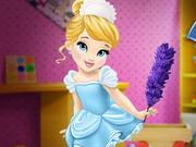 سندريلا تنظيف المنزل 2020: baby cinderella house cleaning