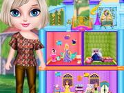 بنات جدة دولز يومية: baby elsa dollhouse designer