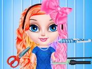 طفل السا تصميم تصفيف الشعر