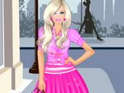 تلبيس باربي ملابس التسوق