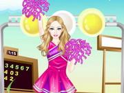 باربى المشجعة: barbie cheerleader dress up
