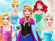 تحدي الأزياء: باربي كوسبلاي أميرة ديزني