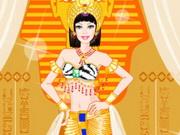 تلبيس ملكة مصر الفرعونية