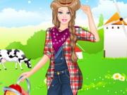 الفتاة المزارعة النشيطة