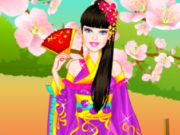 تلبيس باربي اليابانية