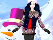 ملابس باربي الشتوية