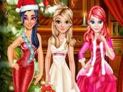 اميرات ديزني بفس في الكرسمس: bffs christmas party