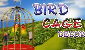 ديكور قفص الطيور