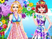 تلبيس الزهور: blondie flower show