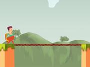 الطيران بالحبل: bridge fly