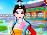 الأميرة الصينية: صالون الميك اب