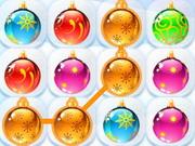 ذكاء تحطيم اشكال الكرات المتشابهة: christmas balls