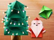 بابا نويل: christmas origami fun