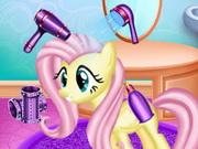 صالون الحيوانات تجميل كامل: cute pony hair salon
