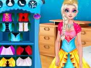 تلبيس السا في البوتيك: design a dress for elsa