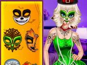 الهالوين الجديدة: design elsa halloween costume