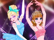 إلسا وآنا راقصات البالية