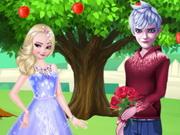 شجرة الحب الخارقة: elsa and jack loving tree
