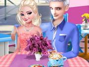 السا طبخ المقهى: elsa and jack's love cafe date