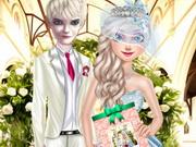 بنات تلبيس 2017 على الموضة ومكياج وقص شعر عرائس على موقم جيري: elsa and jack wedding invitation