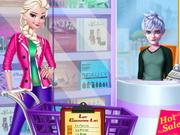 التسوق في متجر المكياج والمجوهرات