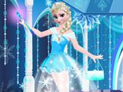 تلبيس إلسا فى حفلة راقصة