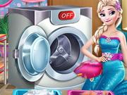 غسيل الملابس وتنظيفها في الحمام