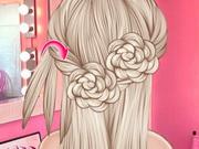 قص الشعر للعرائس: elsa wedding hair design