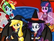 بنات اكوستريا حفل الهالوين: equestria girls halloween party