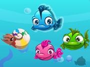 الغاز السمكة الملونة