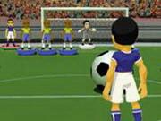 رياضة كرة القدم: flicking soccer