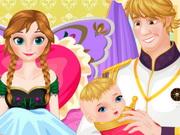 آنا فروزن: ميلاد الطفل الصغير